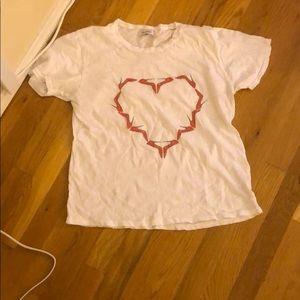 Lauren Moshi Shoe Heart T shirt